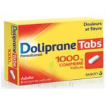 DOLIPRANETABS 1000 mg Comprimés pelliculés Plq/8 à Saint-Brevin-les-Pins
