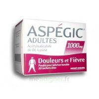 Aspegic Adultes 1000 Mg, Poudre Pour Solution Buvable En Sachet-dose 20 à Saint-Brevin-les-Pins