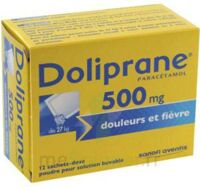 Doliprane 500 Mg Poudre Pour Solution Buvable En Sachet-dose B/12 à Saint-Brevin-les-Pins