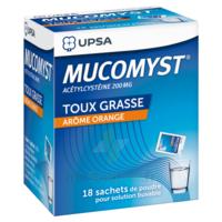 Mucomyst 200 Mg Poudre Pour Solution Buvable En Sachet B/18 à Saint-Brevin-les-Pins
