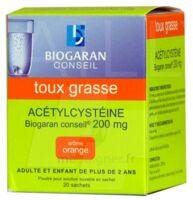Acetylcysteine Biogaran Conseil 200 Mg Pdr Sol Buv En Sachet B/20 à Saint-Brevin-les-Pins