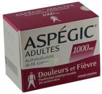 ASPEGIC ADULTES 1000 mg, poudre pour solution buvable en sachet-dose 15 à Saint-Brevin-les-Pins