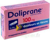 Doliprane 100 Mg Suppositoires Sécables 2plq/5 (10) à Saint-Brevin-les-Pins