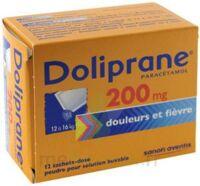 Doliprane 200 Mg Poudre Pour Solution Buvable En Sachet-dose B/12 à Saint-Brevin-les-Pins