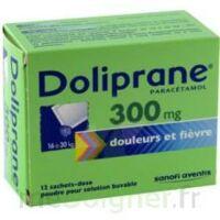 Doliprane 300 Mg Poudre Pour Solution Buvable En Sachet-dose B/12 à Saint-Brevin-les-Pins
