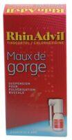 Rhinadvil Maux De Gorge Tixocortol/chlorhexidine, Suspension Pour Pulvérisation Buccale à Saint-Brevin-les-Pins