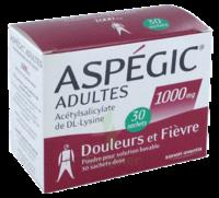 Aspegic Adultes 1000 Mg, Poudre Pour Solution Buvable En Sachet-dose 30 à Saint-Brevin-les-Pins