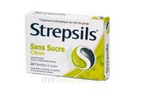 Strepsils Citron Sans Sucre, Pastille édulcorée à L'isomalt, Au Maltitol Et à La Saccharine Sodique à Saint-Brevin-les-Pins