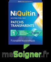 NIQUITIN 21 mg/24 heures, dispositif transdermique Sach/7 à Saint-Brevin-les-Pins