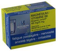 MAGNESIUM/VITAMINE B6 BIOGARAN CONSEIL 48 mg/5 mg, comprimé pelliculé à Saint-Brevin-les-Pins