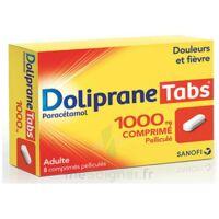 Dolipranetabs 1000 Mg Comprimés Pelliculés Plq/8