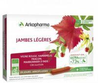 Arkofluide Bio Ultraextract Solution Buvable Jambes Légères 20 Ampoules/10ml à Saint-Brevin-les-Pins