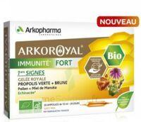 Arkoroyal Immunité Fort Solution Buvable 20 Ampoules/10ml à Saint-Brevin-les-Pins