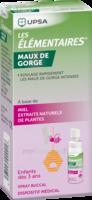 Les Elementaires Spray Buccal Maux De Gorge Enfant Fl/20ml à Saint-Brevin-les-Pins