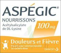 Aspegic Nourrissons 100 Mg, Poudre Pour Solution Buvable En Sachet-dose à Saint-Brevin-les-Pins