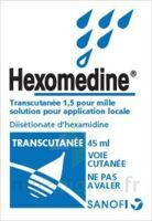 HEXOMEDINE TRANSCUTANEE 1,5 POUR MILLE, solution pour application locale à Saint-Brevin-les-Pins