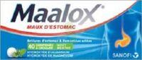 Maalox Hydroxyde D'aluminium/hydroxyde De Magnesium 400 Mg/400 Mg Cpr à Croquer Maux D'estomac Plq/40 à Saint-Brevin-les-Pins