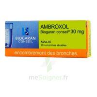 Ambroxol Biogaran Conseil 30 Mg, Comprimé Sécable à Saint-Brevin-les-Pins