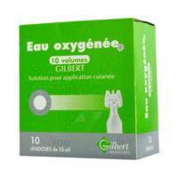 Eau Oxygenee 10 Volumes Gilbert, Solution Pour Application Cutanée En Récipient Unidose à Saint-Brevin-les-Pins
