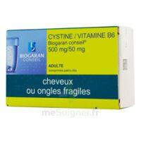 CYSTINE/VITAMINE B6 BIOGARAN CONSEIL 500 mg/50 mg Cpr pell Plq/120 à Saint-Brevin-les-Pins