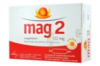 MAG 2 122 mg S buv en ampoule sans sucre édulcoré à la saccharine sodique 30Amp/10ml à Saint-Brevin-les-Pins