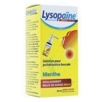 LysopaÏne Ambroxol 17,86 Mg/ml Solution Pour Pulvérisation Buccale Maux De Gorge Sans Sucre Menthe Fl/20ml à Saint-Brevin-les-Pins