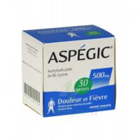 Aspegic 500 Mg, Poudre Pour Solution Buvable En Sachet-dose 30 à Saint-Brevin-les-Pins