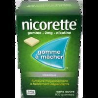 Nicorette 2 Mg Gom à Mâcher Médic Sans Sucre Menthe Fraîche Plq/105gom à Saint-Brevin-les-Pins
