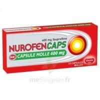 Nurofencaps 400 Mg Caps Molle Plq/10 à Saint-Brevin-les-Pins