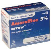 Amorolfine Arrow 5 % V Ongles Médicamenteux 1fl/2,5ml+30spat à Saint-Brevin-les-Pins