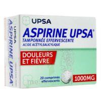 Aspirine Upsa Tamponnee Effervescente 1000 Mg, Comprimé Effervescent à Saint-Brevin-les-Pins