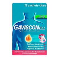 GAVISCONELL Suspension buvable sachet-dose menthe sans sucre 12Sach/10ml à Saint-Brevin-les-Pins
