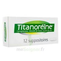 Titanoreine Suppositoires B/12 à Saint-Brevin-les-Pins