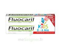 Fluocaril Kids Gel Dentifrice Fraise 0/6ans 2*50ml à Saint-Brevin-les-Pins