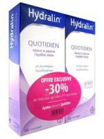 Hydralin Quotidien Gel lavant usage intime 2*200ml à Saint-Brevin-les-Pins