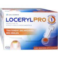 Locerylpro 5 % V Ongles Médicamenteux Fl/2,5ml+spatule+30 Limes+lingettes à Saint-Brevin-les-Pins