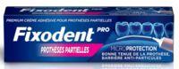 Fixodent Pro Crème Adhésive Pour Prothèse Partielle T/40g à Saint-Brevin-les-Pins