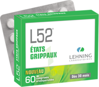 Lehning L52 Comprimés Orodispersibles Plq Pvc/pvdc/alu/60 à Saint-Brevin-les-Pins