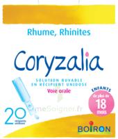 Boiron Coryzalia Solution Buvable Unidose B/20 à Saint-Brevin-les-Pins