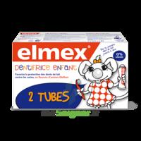 ELMEX DUO DENTIFRICE ENFANT, tube 50 ml x 2 à Saint-Brevin-les-Pins