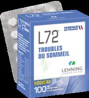 Lehning L72 Comprimés Orodispersibles Plq Pvc/pvdc/alu/100 à Saint-Brevin-les-Pins