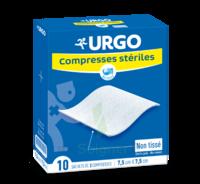 Urgo Compresse Stérile Non Tissée 10x10cm 10 Sachets/2 à Saint-Brevin-les-Pins